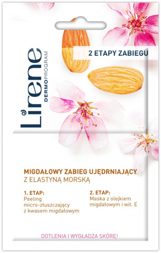Lirene - MEZO-COLLAGEN - Peeling-microdermabrasion + phyto-collagen mask (skin rejuvenating therapy)