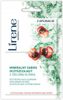 Lirene - MINERALNY ZABIEG OCZYSZCZAJĄCY Z ZIELONĄ GLINKĄ