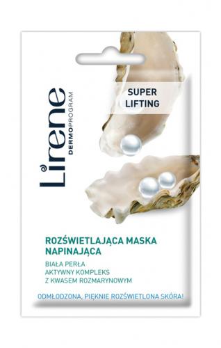 Lirene - SUPER LIFTING - Rozświetlająca maska napinająca