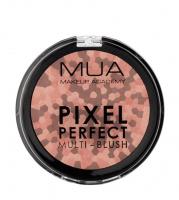 MUA - PIXEL PERFECT - MULTI - BLUSH - Wielokolorowy róż do policzków - PEACH BLOOM - PEACH BLOOM