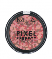 MUA - PIXEL PERFECT - MULTI - BLUSH - Wielokolorowy róż do policzków - CORAL SPICE - CORAL SPICE