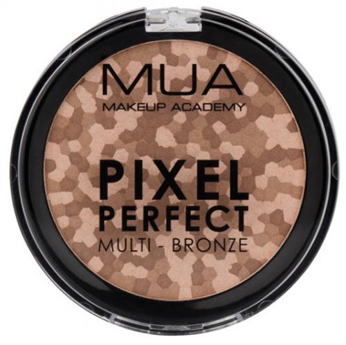 MUA - PIXEL PERFECT MULTI - BRONZE - Wielokolorowy puder brązujący