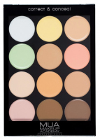 MUA - Correct & Conceal Palette - Professional contouring palette