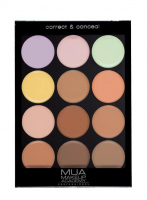 MUA - Correct & Conceal Palette - Professional contouring palette - COOL PALETTE - COOL PALETTE
