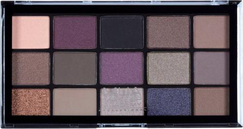 MUA - 15 Shade Palette - Twilight Delight - Paleta 15 cieni do powiek