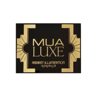 MUA - LUXE - RADIANT ILLUMINATION Highlighting Kit - Paleta rozświetlaczy do twarzy - 2