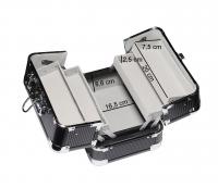 Inter-Vion - Kufer kosmetyczny 499 301 BLACK - CZARNY