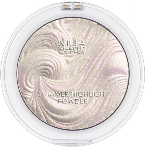 MUA - SHIMMER HIGHLIGHT POWDER - Rozświetlacz do twarzy