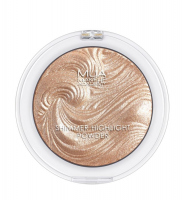 MUA - SHIMMER HIGHLIGHT POWDER - Rozświetlacz do twarzy - RADIANT CASHMERE - RADIANT CASHMERE