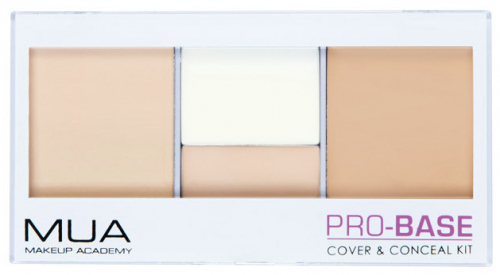 MUA - PRO-BASE - Cover & Conceal Kit - 4 concealers