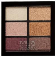 MUA - 6 Shade Palette - Rusted Wonders - Palette of 6 eyeshadows