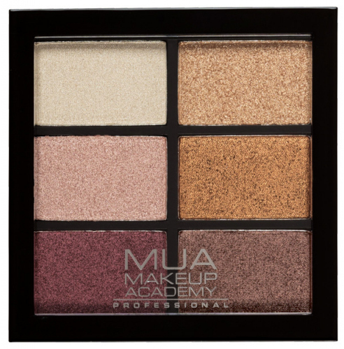 MUA - 6 Shade Palette - Rusted Wonders - Paleta 6 cieni do powiek