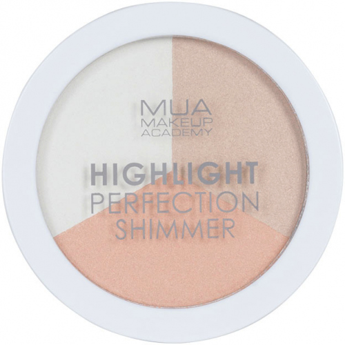 MUA - Highlight Perfection Shimmer - Spotlight Sheen - Set of 3 highlighters