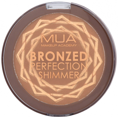 MUA - BRONZED PERFECTION SHIMMER - Sahara Sunlight - Bronzing powder with particles