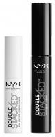 NYX Professional Makeup - Double Stacked Mascara Base & Top Coat - Nylon Lash Fibers