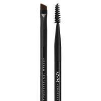 NYX Professional Makeup - PRO BRUSH 18 - Podwójny pędzel do brwi