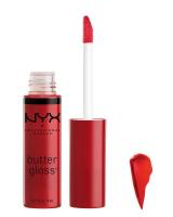 NYX Professional Makeup - BUTTER GLOSS - Kremowy błyszczyk do ust - 12 - Cherry Pie  - 12 - Cherry Pie