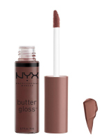 NYX Professional Makeup - BUTTER GLOSS - Kremowy błyszczyk do ust - 17 - Ginger Snap - 17 - Ginger Snap