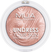 MUA - UNDRESS YOUR SKIN - Shimmer Highlighter - Opalescent Amber - Rozświetlacz do twarzy