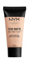 NYX Professional Makeup - STAY MATTE BUT NOT FLAT LIQUID FOUNDATION - SMF01.5 - LIGHT BEIGE - SMF01.5 - LIGHT BEIGE
