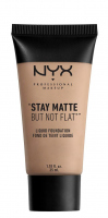 NYX Professional Makeup - STAY MATTE BUT NOT FLAT LIQUID FOUNDATION - Podkład matujący - SMF04.5 - SOFT SAND - SMF04.5 - SOFT SAND