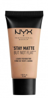 NYX Professional Makeup - STAY MATTE BUT NOT FLAT LIQUID FOUNDATION - Podkład matujący - SMF05 - SOFT BEIGE - SMF05 - SOFT BEIGE