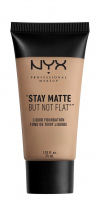 NYX Professional Makeup - STAY MATTE BUT NOT FLAT LIQUID FOUNDATION - Podkład matujący - SMF09.5 - OLIVE - SMF09.5 - OLIVE