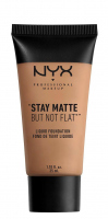NYX Professional Makeup - STAY MATTE BUT NOT FLAT LIQUID FOUNDATION - Podkład matujący - SMF09 - TAN - SMF09 - TAN