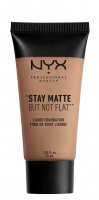 NYX Professional Makeup - STAY MATTE BUT NOT FLAT LIQUID FOUNDATION - Podkład matujący - SMF10 - CARAMEL  - SMF10 - CARAMEL