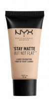 NYX Professional Makeup - STAY MATTE BUT NOT FLAT LIQUID FOUNDATION - Podkład matujący - SMF16 - PORCELAIN - SMF16 - PORCELAIN
