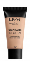 NYX Professional Makeup - STAY MATTE BUT NOT FLAT LIQUID FOUNDATION - Podkład matujący - SMF17 - WARM - SMF17 - WARM