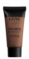 NYX Professional Makeup - STAY MATTE BUT NOT FLAT LIQUID FOUNDATION - Podkład matujący - SMF19 - COCOA - SMF19 - COCOA