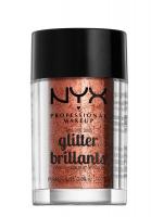 NYX Professional Makeup - Glitter Brillants - Brokat do twarzy i ciała - 04 - 04