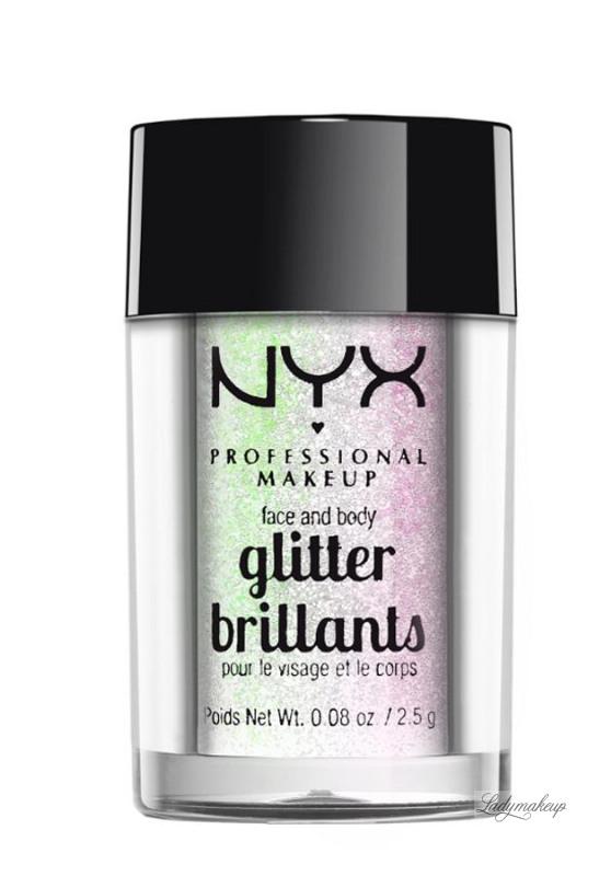 nyx face and body glitter sverige