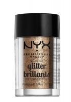 NYX Professional Makeup - Glitter Brillants - Brokat do twarzy i ciała - 08 - 08