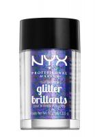 NYX Professional Makeup - Glitter Brillants - Brokat do twarzy i ciała - 11 - 11