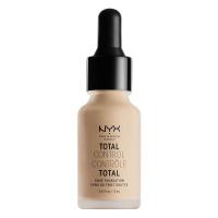 NYX Professional Makeup - TOTAL CONTROL - DROP FOUNDATION - Podkład z zakraplaczem - TCDF10 - BUFF - TCDF10 - BUFF
