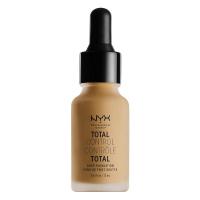 NYX Professional Makeup - TOTAL CONTROL - DROP FOUNDATION - Podkład z zakraplaczem - TCDF15 - CARMEL - TCDF15 - CARMEL