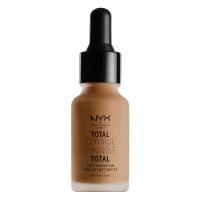 NYX Professional Makeup - TOTAL CONTROL - DROP FOUNDATION - Podkład z zakraplaczem - TCDF17 - CAPPUCCINO - TCDF17 - CAPPUCCINO
