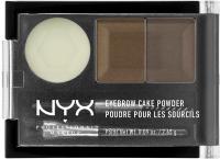 NYX Professional Makeup - EYEBROW CAKE POWDER - Eyebrow make-up set
