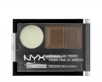 NYX Professional Makeup - EYEBROW CAKE POWDER - Eyebrow make-up set - 03 - TAUPE/ASH - 03 - TAUPE/ASH