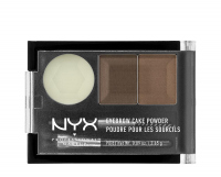 NYX Professional Makeup - EYEBROW CAKE POWDER - Eyebrow make-up set - 05 - BRUNETTE - 05 - BRUNETTE