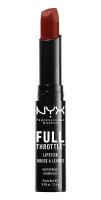 NYX Professional Makeup - FULL THROTTLE LIPSTICK - Matte - 01 - CON ARTIST - 01 - CON ARTIST