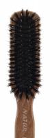 GORGOL - NATUR - Pneumatyczna szczotka do włosów z naturalnego włosia + ROZCZESYWACZ - 15 05 142 - 6R