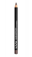 NYX Professional Makeup - EYE AND EYEBROW PENCIL - Wielozadaniowa kredka do oczu - 914 - Medium Brown - 914 - Medium Brown