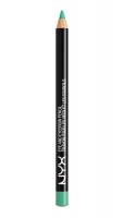 NYX Professional Makeup - EYE AND EYEBROW PENCIL - Wielozadaniowa kredka do oczu - 930 - Teal - 930 - Teal