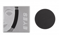 KRYOLAN - EYE SHADOW IRIDESCENT/MATT - Cień do powiek - Art. 5330 - BLACK - BLACK