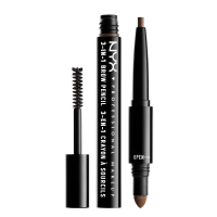 NYX Professional Makeup - SOURCILS 3IN1 BROW - Produkt 3w1 do makijażu brwi - 31BO7 - ESPRESSO - 31BO7 - ESPRESSO