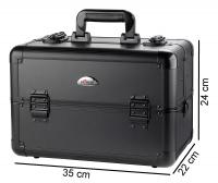 SORISE - Kufer kosmetyczny - WT-405A-B