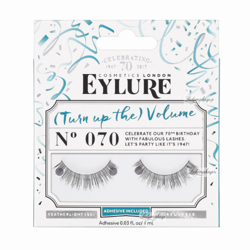 EYLURE - VOLUME - NR 070 - Rzęsy z klejem - efekt pogrubienia - 60 01 107